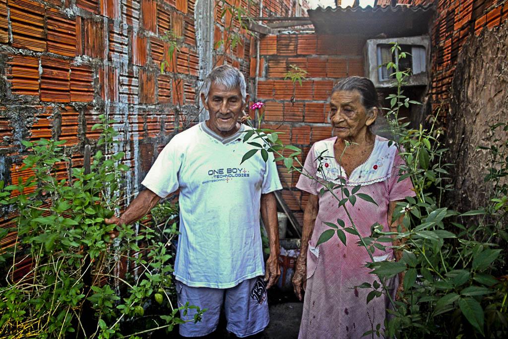 Sêo Xara e Dona Maria são casados há 62 anos. (Foto: Floriano Lins)