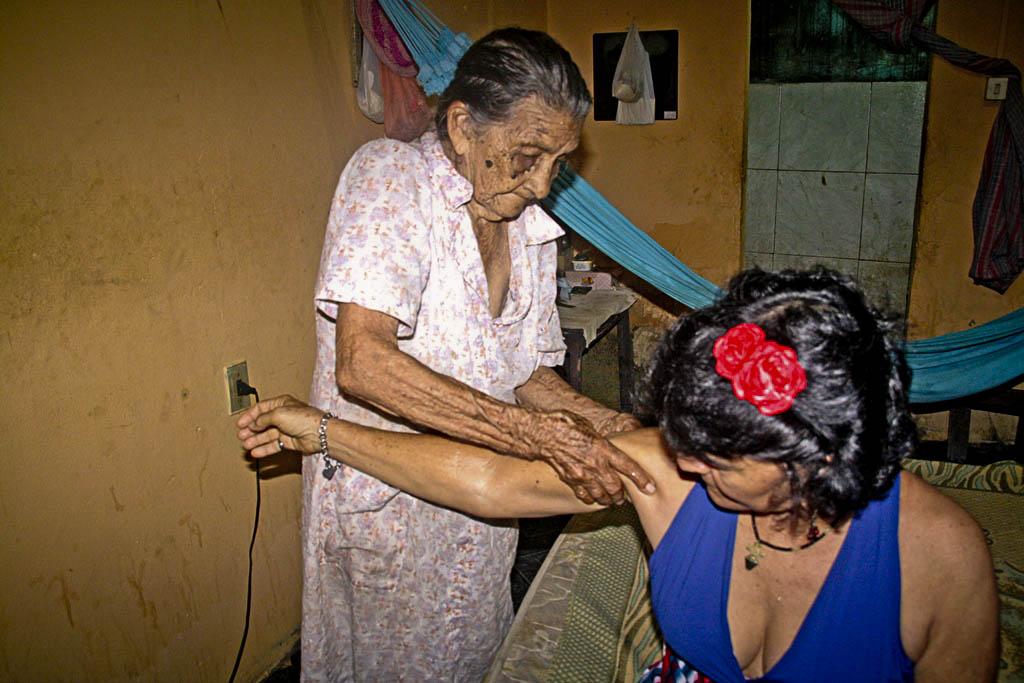 Maria Nascimento da Silva, a Dona Maria Mãos. (Foto: Floriano Lins)