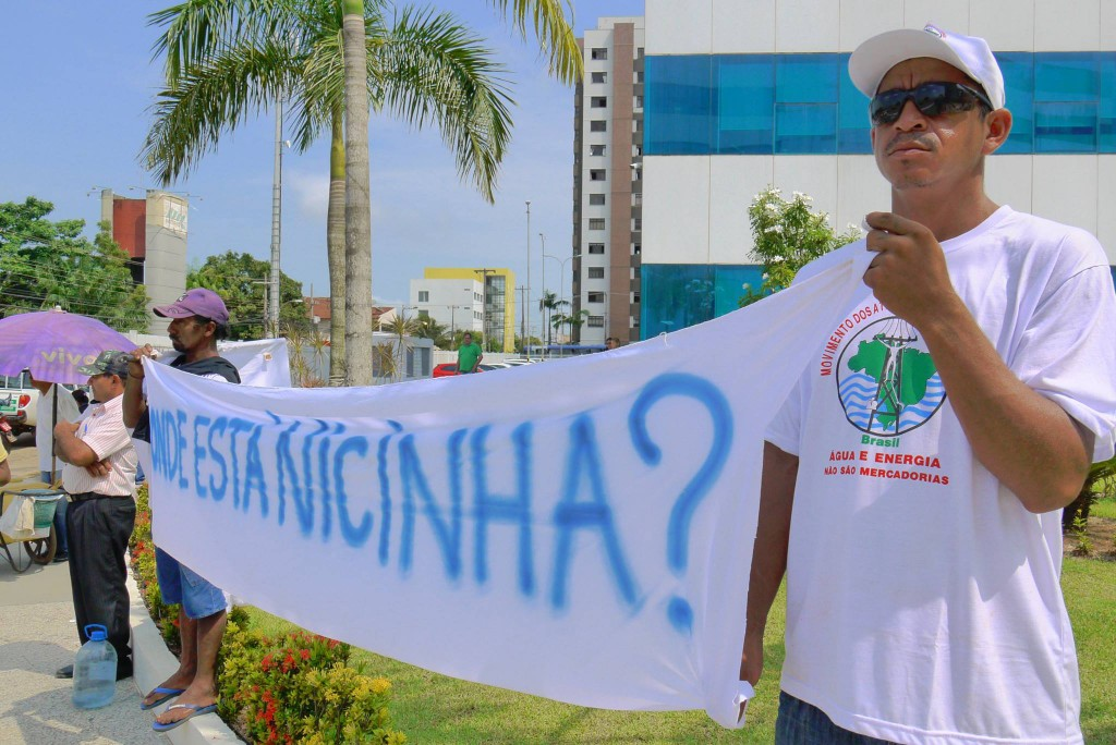 Manifestação em Porto Velho contra a impunidade no caso Nicinha (Foto: MAB)