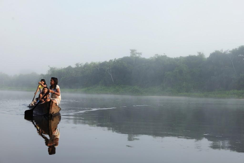 Território dos Munduruku no Tapajós (Foto: Gabriel Bicho/Greenpeace)