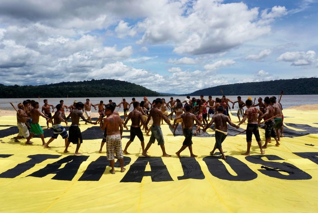 Povo Munduruku (Foto: Rogério Assis/Greenpeace)