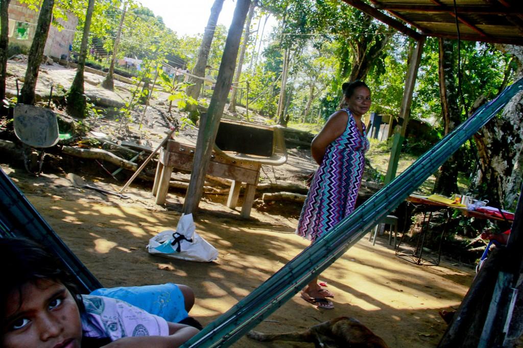 Eliana Torre Deni: vida difícil. (Foto: Alberto César Araújo/Amazônia Real)