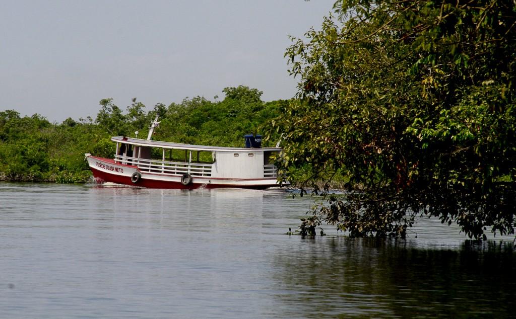 O ecoturismo comunitário é reivindicado pelas  famílias. (Foto: Alberto César Araújo/Amazônia Real)