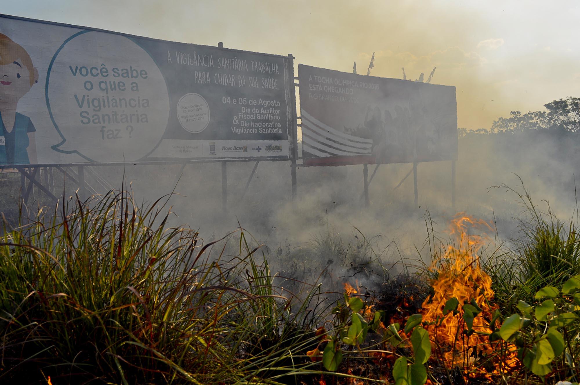 Estiagem severa e queimadas atingem centro-sul da Amazônia Legal