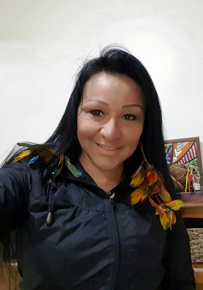 Tenente Sílvia Nobre, do povo Waiapi (Foto: reprodução Facebook)