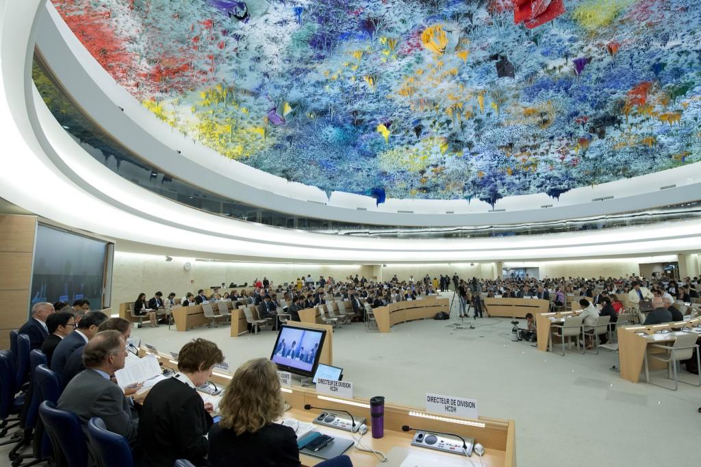 Conselho de Direitos Humanos da ONU, em Genebra (Foto: Jean Marc Ferre/UN Photo)