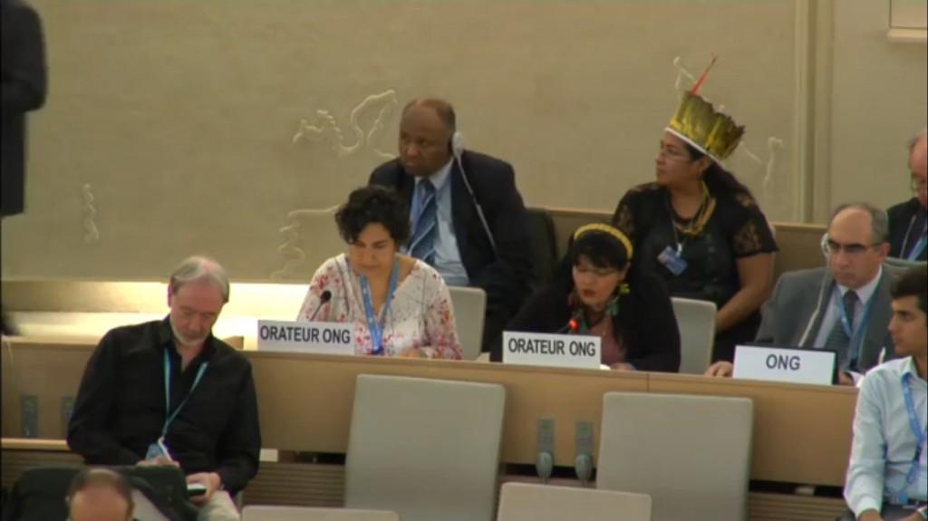 Conselho de Direitos Humanos da ONU em Genebra. (Foto: Reprodução ONUMidia)