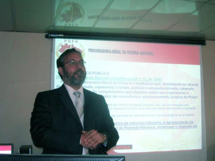 Agostinho Netto era assessor especial do Ministério da Justiça. (Foto: AGU)