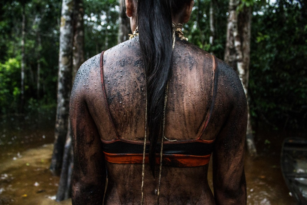Festa da Menina-Moça Tejuvi Juma-Uru Eu Wau Wau (Foto: Gabriel Uchida/Amazônia Real)