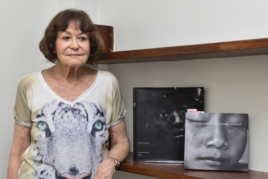 Claudia Andujar foi fundadora da CCPY (Foto: Marcelo/Amazônia Real)
