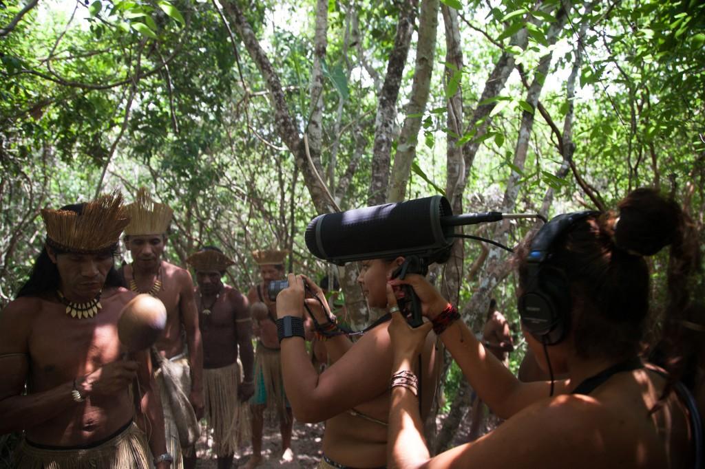 """Still do filme """"Mirandela Kiriri"""". da Bahia, com direção do Coletivo Kiriri de Cinema (Foto: Aldeia SP)"""