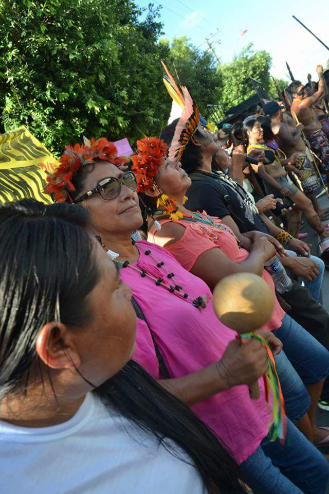 Protestos em Boa Vista, Roraima (Foto: Alan Yanomami)