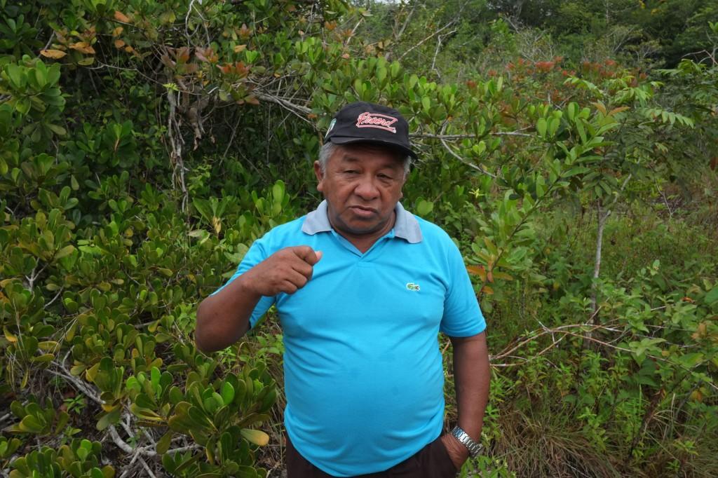 Tuxaua-geral Amado Menezes (Danilo Mello/Foto Amazonas/Amazônia Real)