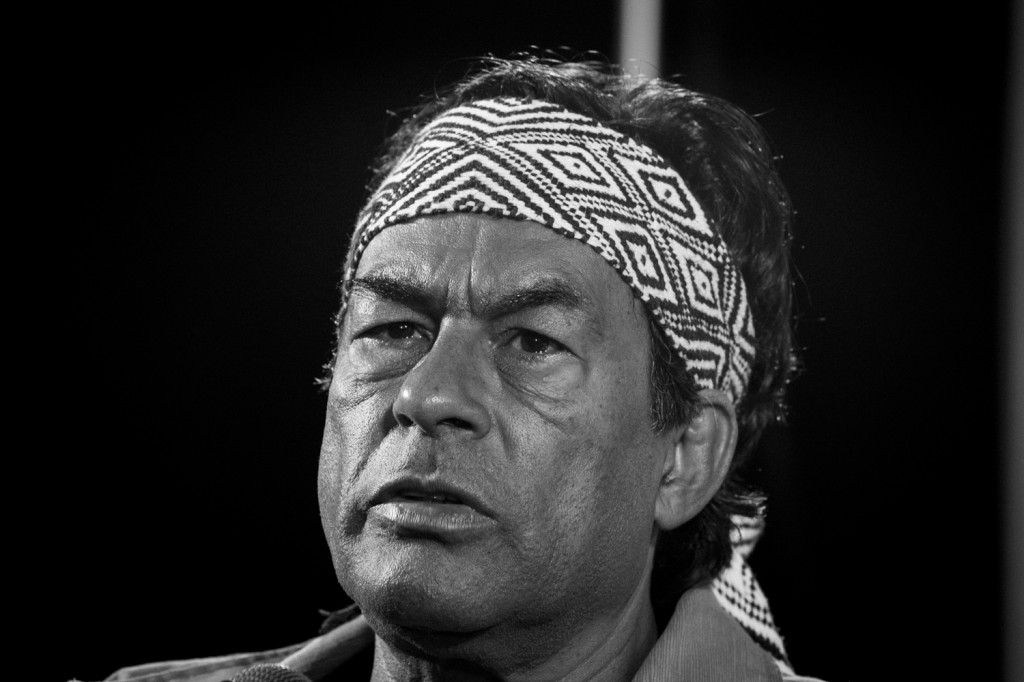 O líder do movimento indígena nacional, Ailton Krenak (Foto: Jackson Romanelli)