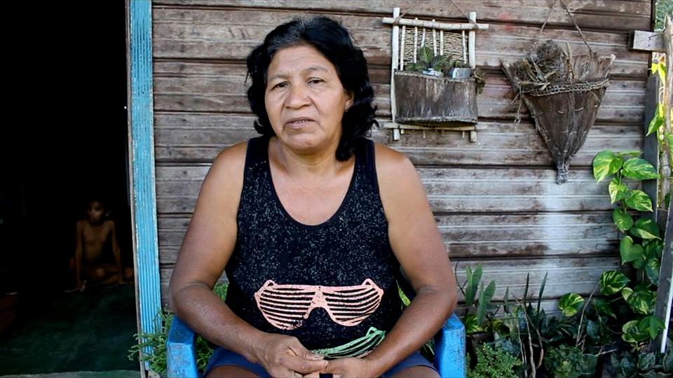 """Still do filme  """"As manivas de Basebó - Histórias e Tradições"""", de Maria Claudia Dias Campos, indígena Tariano (Foto: Aldeia SP)"""