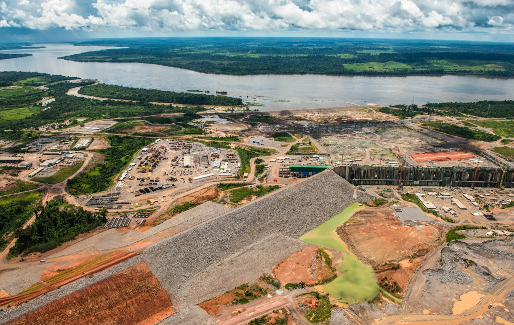Obra de Belo Monte (Foto: Fábio Nascimento/Greenpeace)
