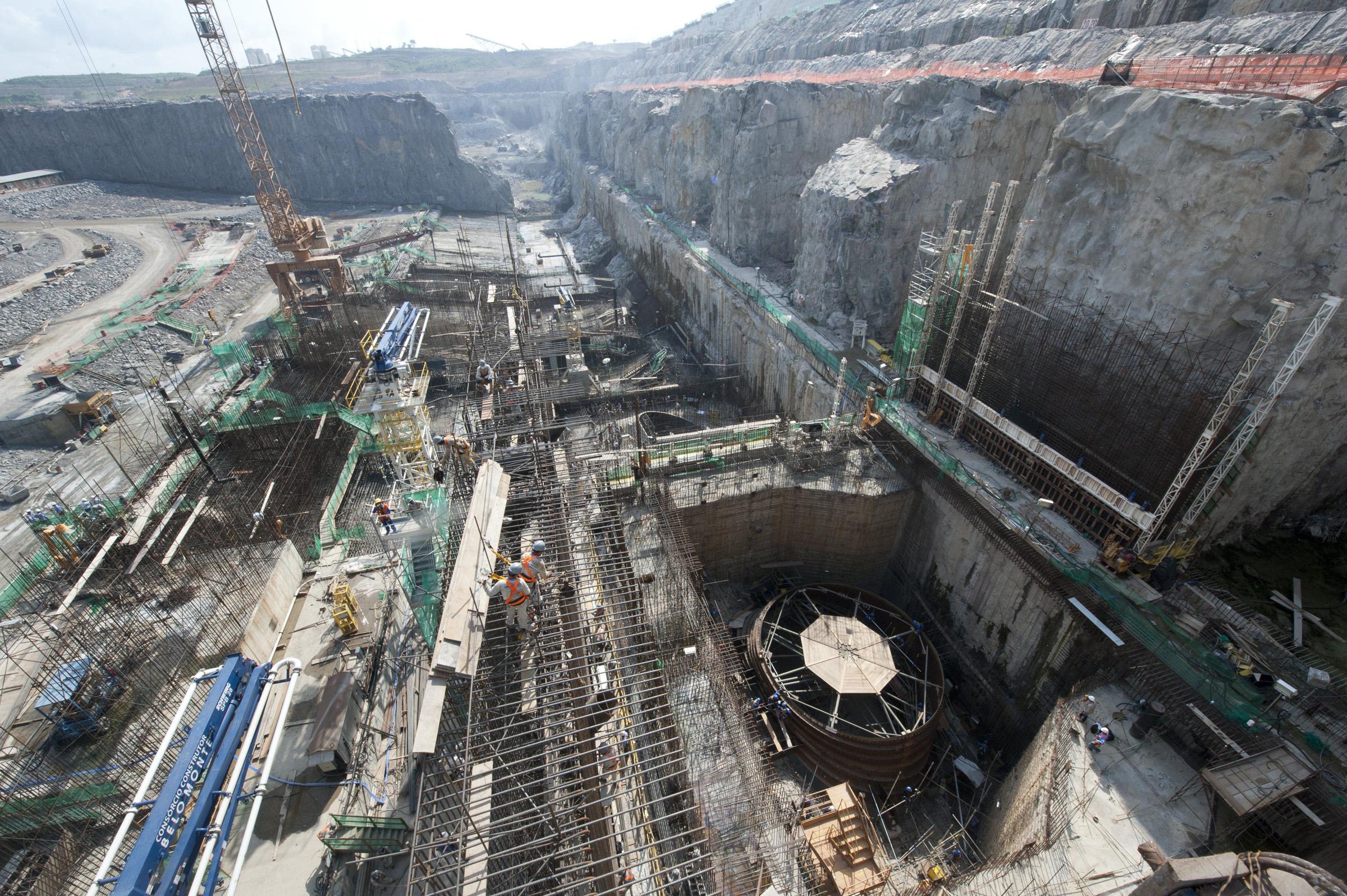 Hidrelétrica de Belo Monte, no Pará (Foto: Regina Santos/Norte Energia)