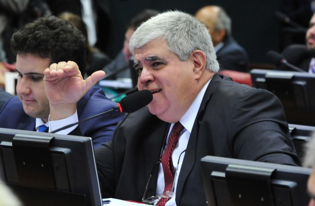 O deputado federal Carlos Marun indicou o militar para ocupar o cargo na Funai (Foto: Agência Câmara)