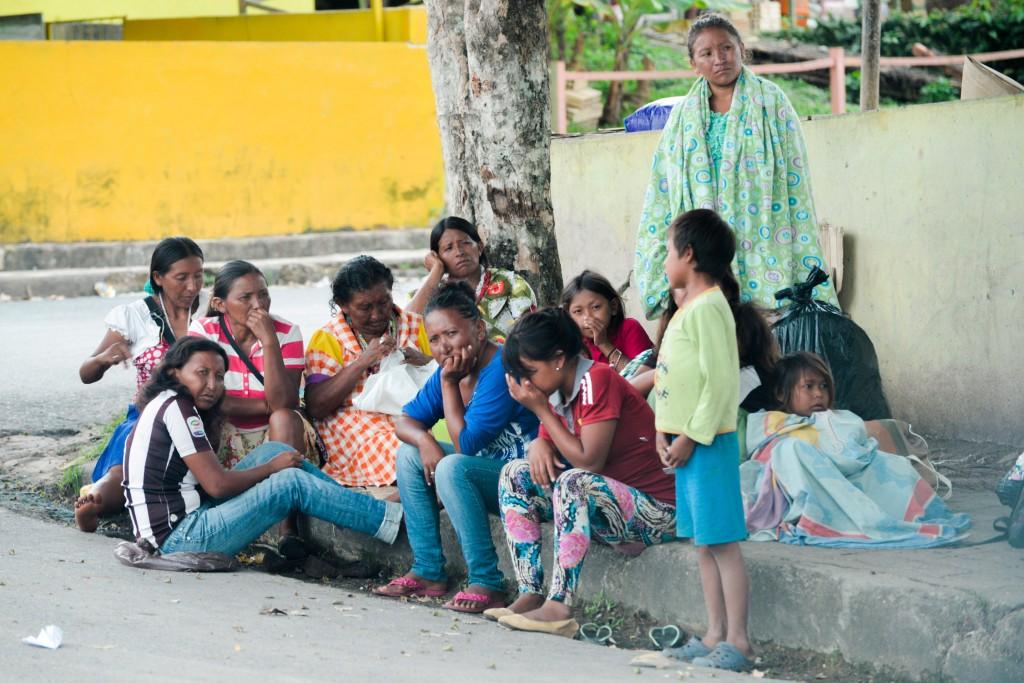 Os Warao viajam quase mil quilômetros para fugir da crise na Venezuela (Foto: Marcelo Mora/Amazônia Real)