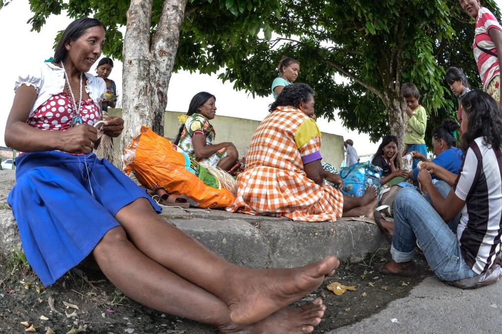 Os Warao falam a língua do mesmo nome da etnia (Foto: Marcelo Mora/Amazônia Real)
