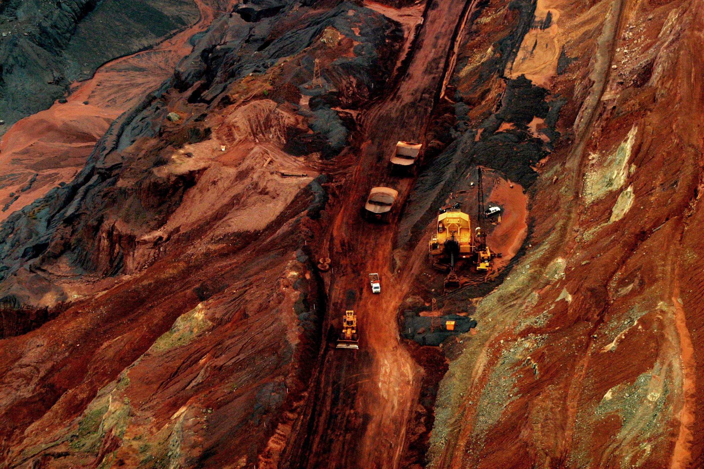 Mineração Carajás da Vale no Pará, em 2005 (Foto: Alberto César Araújo)