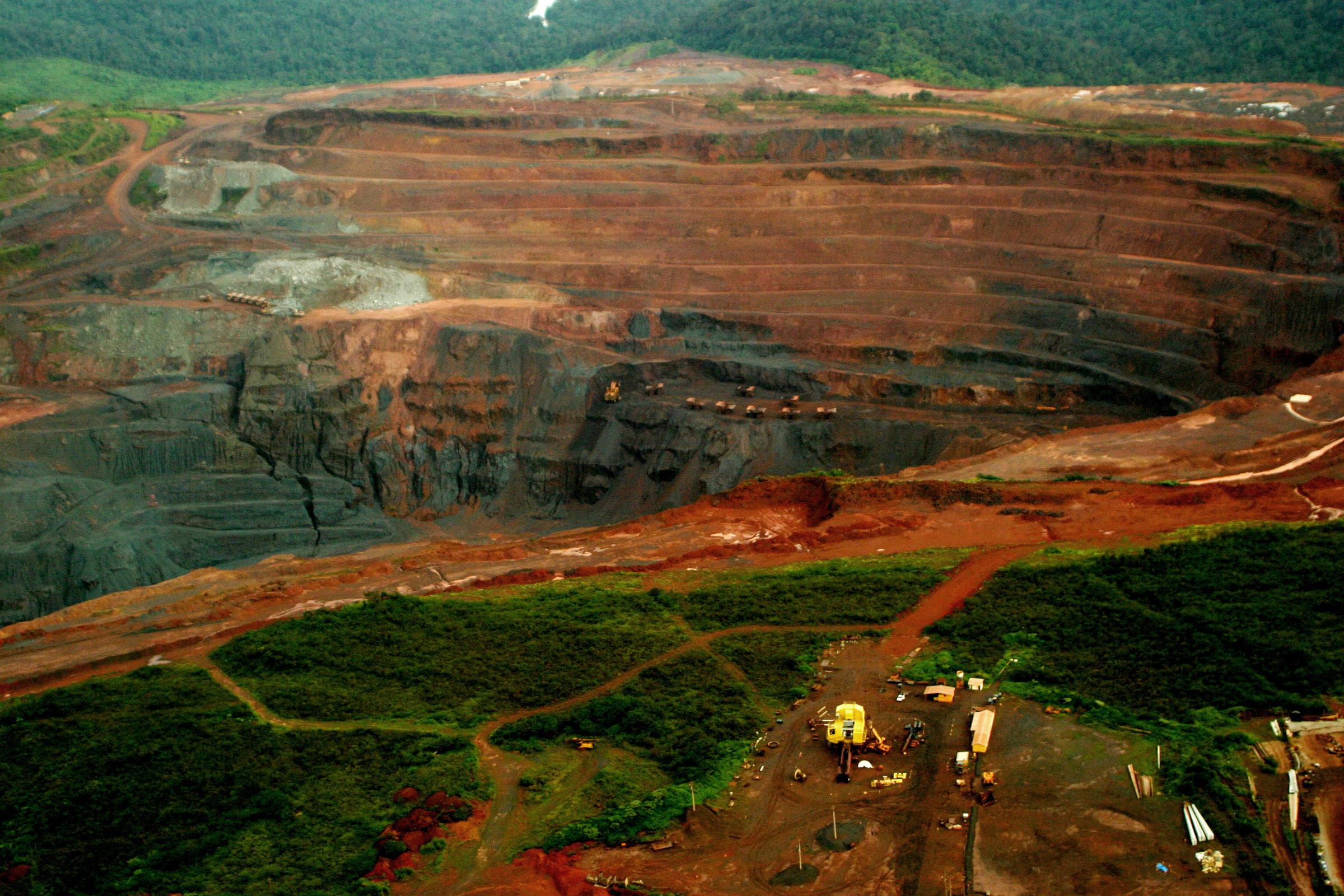 Mineração solta na Amazônia