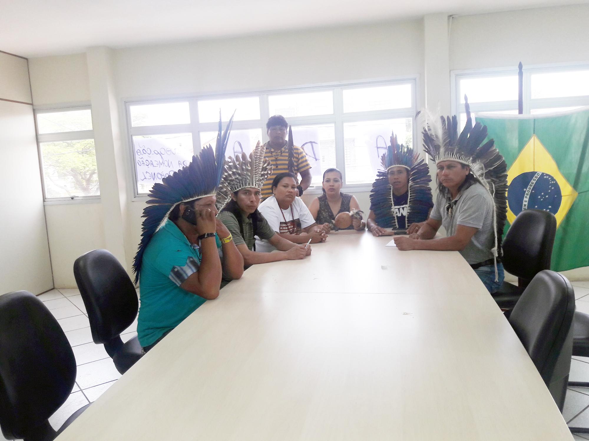 Índios ocupam Funai do Mato Grosso do Sul contra nomeação de coronel do Exército