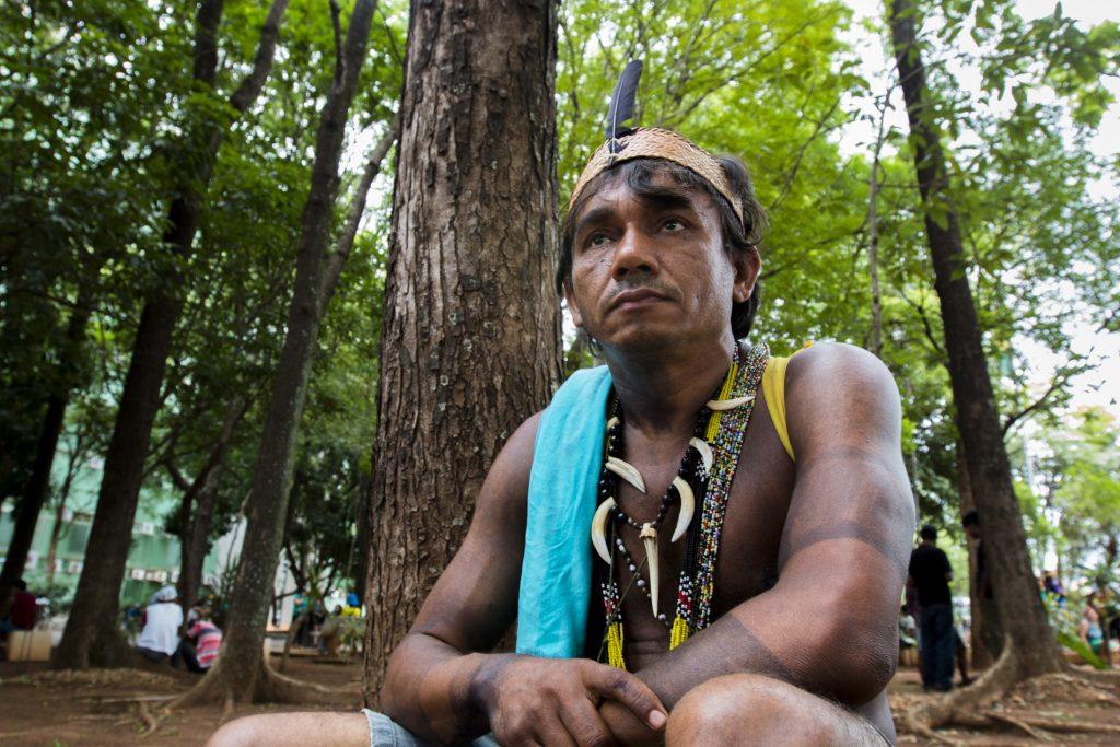 Inaldo Kum Tum Gamela é conselheiro do CNPI (Foto: Ana Mendes/Amazônia Real)