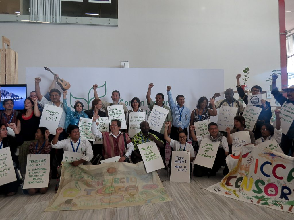Lideranças querem ter voz nas decisões da ONU (Foto: Elaíze Farias/Amazônia Real)