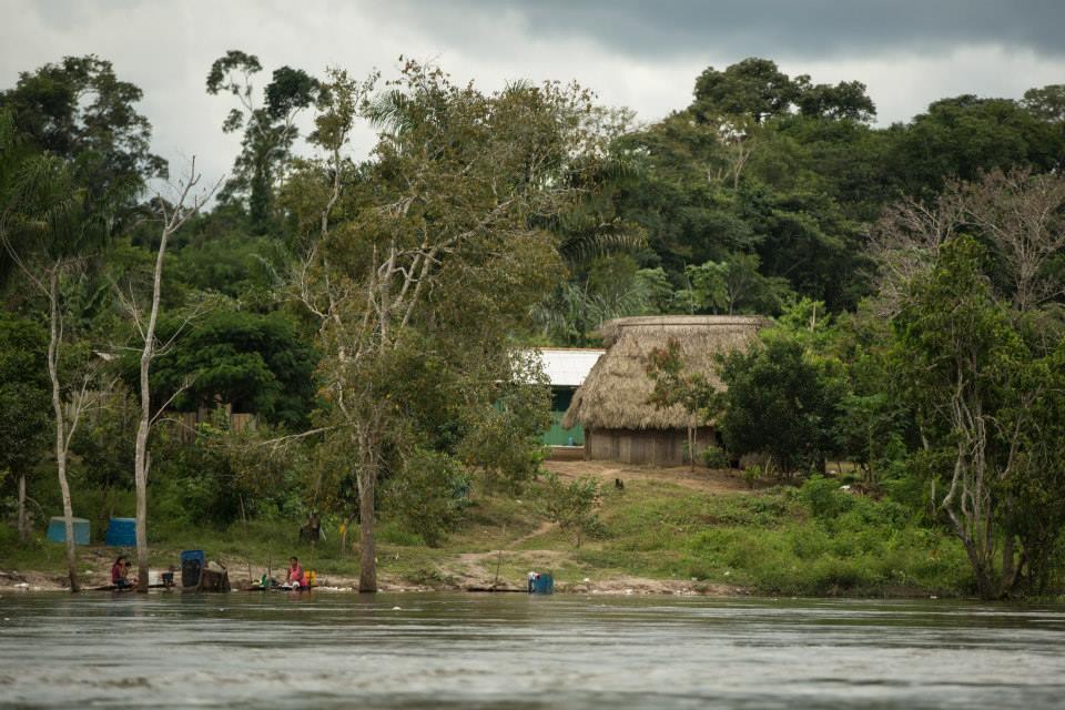 TI Kayabi no rio Teles Pires (Foto: Attilio Zolin/ForestComunicação)