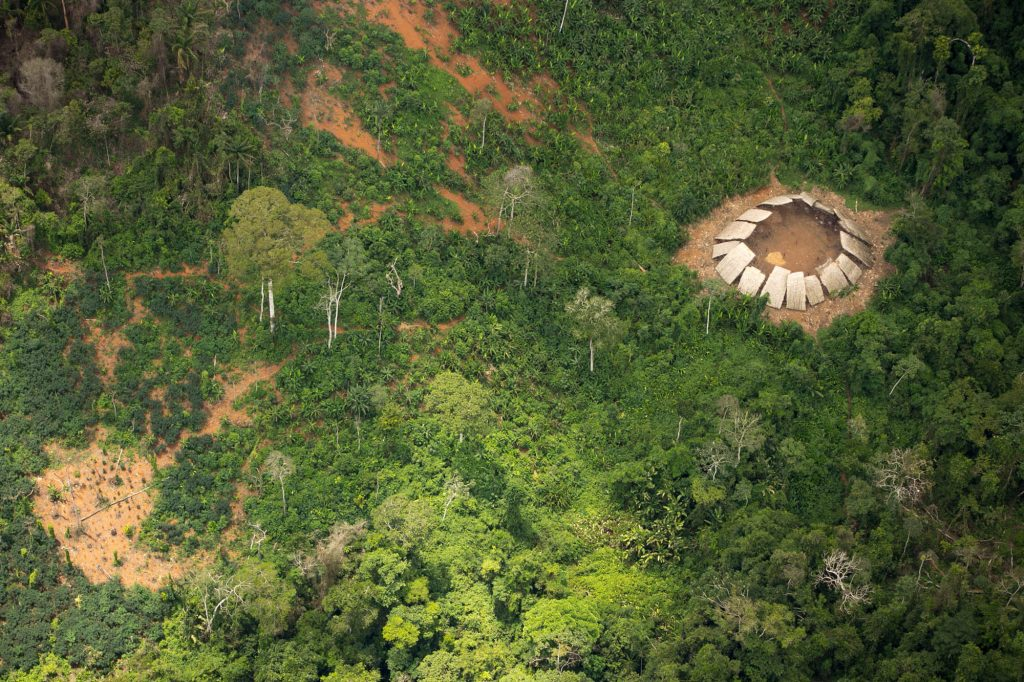 Dentro da TI vivem os índios isolados Moxihatëtëa. (Foto: Guilherme Gnipper/ FPEYY/ Funai)