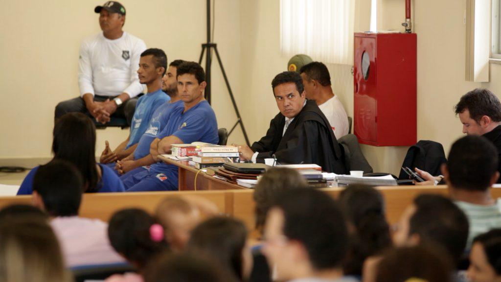 O julgamento dos acusados no Tribunal de Justiça do Pará (Foto cedida por Felipe Milanez)