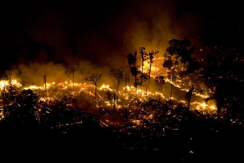 Queimadas na Floresta Amazônica no Pará (Foto: Daniel Beltra/Greenpeace)