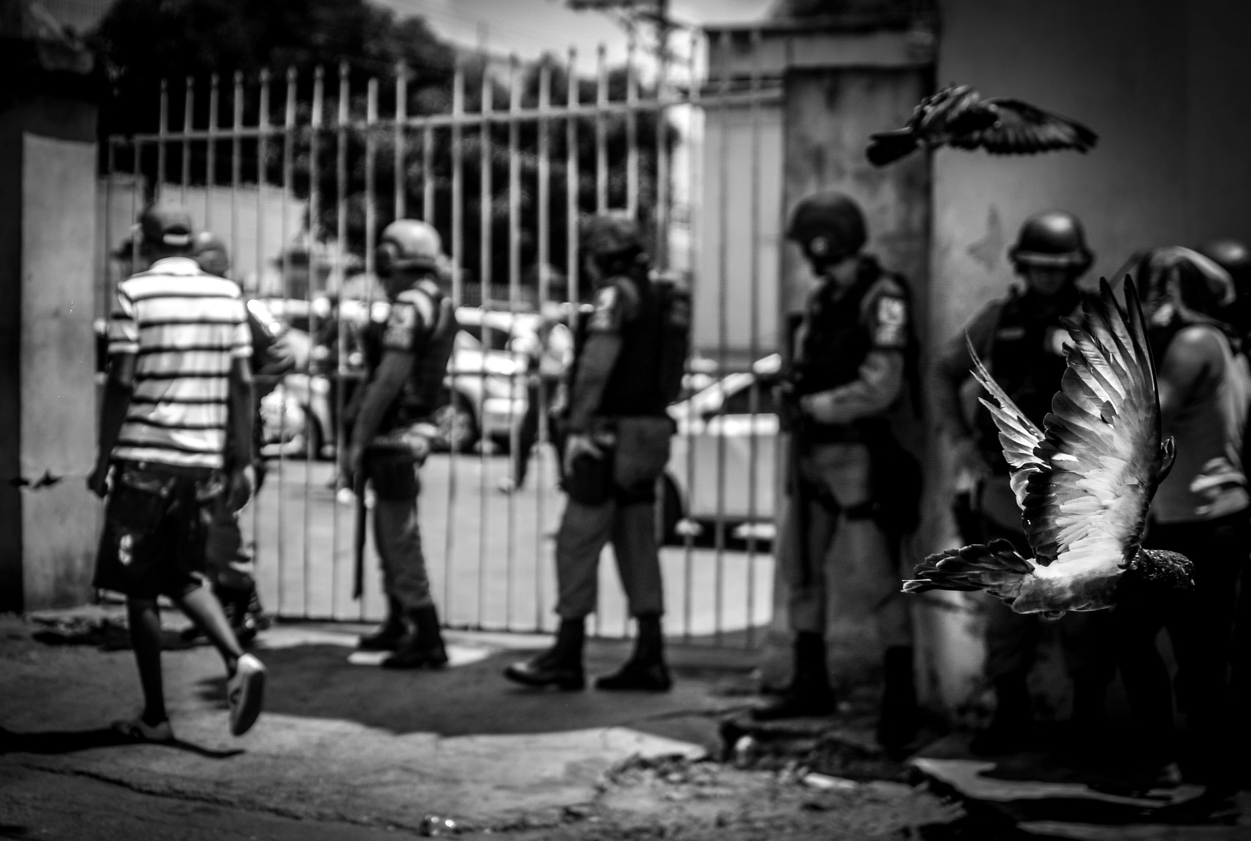 Na Cadeia Pública Raimundo Vida Pessoa foram mortos quatro  presos (Foto: Christian Braga/Jornalistas Livres)