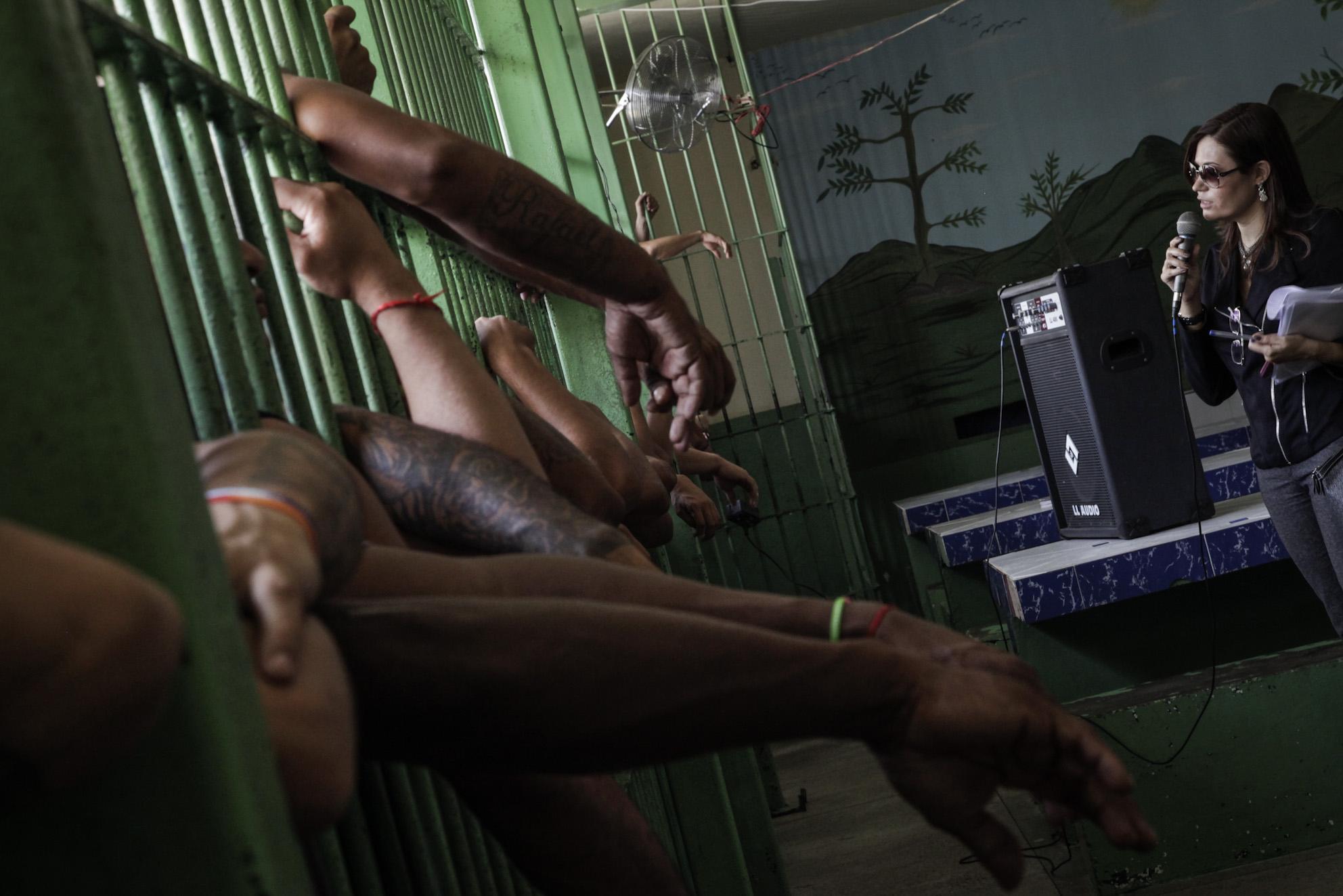 Conselho Nacional de Justiça (CNJ) faz visita Complexo Penitenciário Anísio Jobim (Foto: Raphael Alves/TJAM)