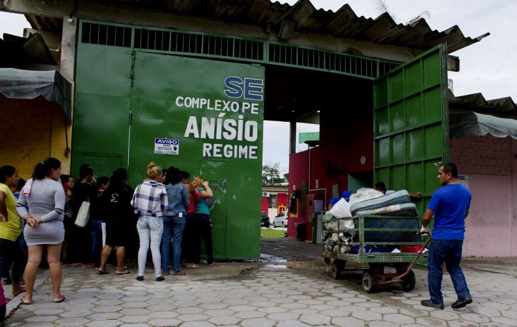 Complexo Penitenciário Anísio Jobim, Compaj, na  BR-174, em Manaus (Foto: Alberto César Araújo)