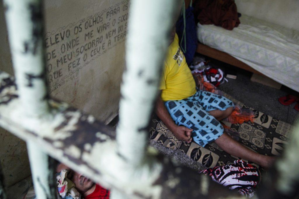 Presídio em Itacoatiara, no Amazonas (Foto: Raphael Alves/TJAM)