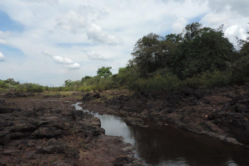 Seca na Volta Grande do Xingu em novembro de 2016 (Foto: Cristiane Costa Carneiro)
