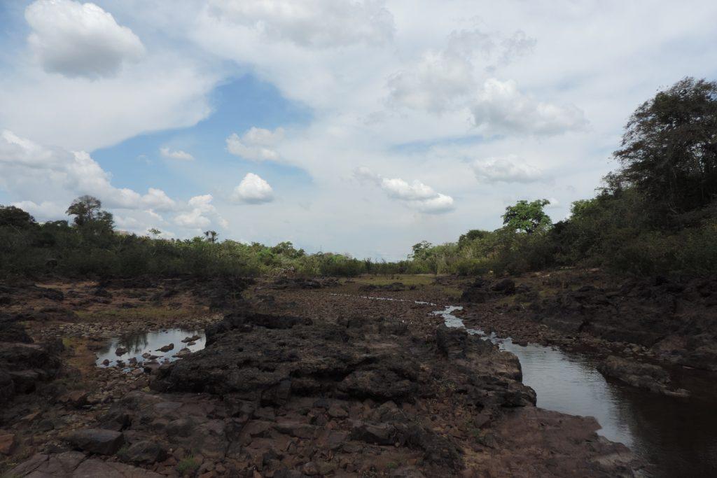 Seca na região da Volta Grande do Xingu, em Altamira, Pará (Foto: Cristiane Costa Carneiro)