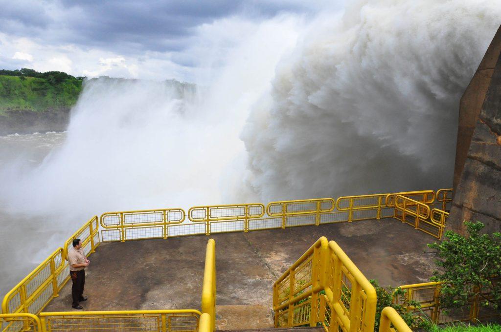 Hidrelétrica de Itaipu na fronteira do Brasil com o Paraguai (Foto: Itaipu Binacional MD)