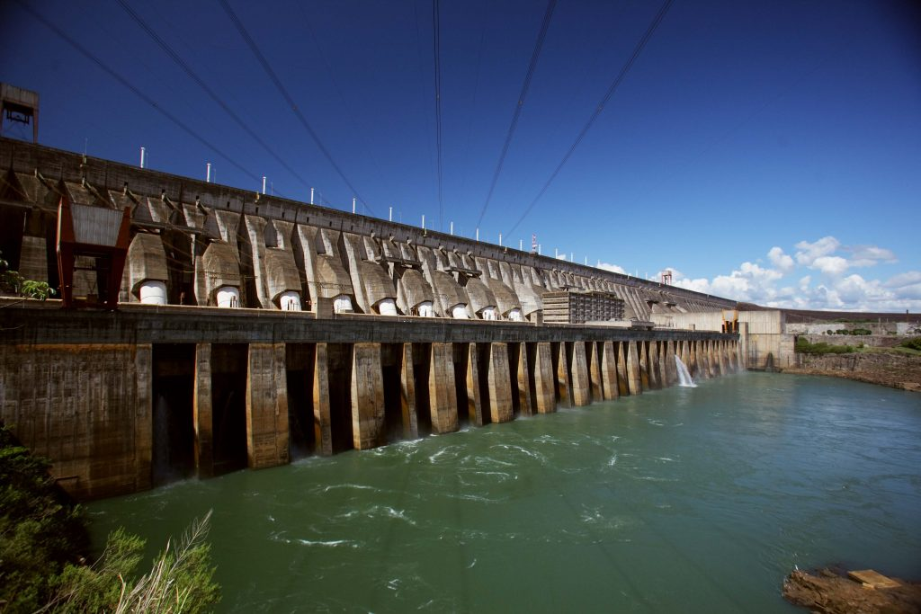 Usina hidrelétrica de Itaipu (Foto: Itaipubinacional)