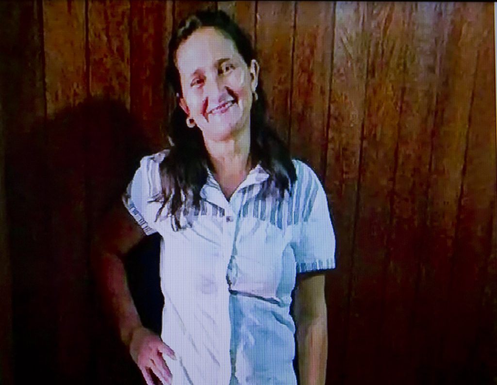 Aldelena Carril dos Santos, 41 anos (Foto: Reprodução TV Amazonas)