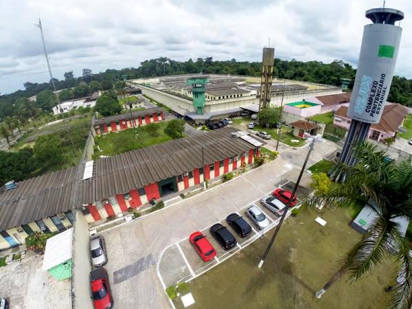 Complexo Penitenciário Anísio Jobim (Foto: Umanizzare)