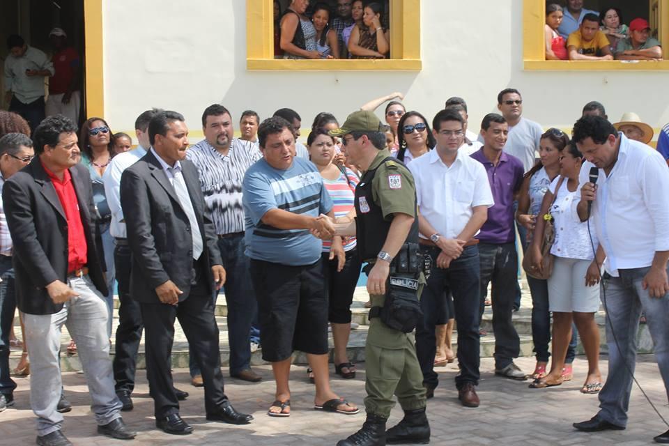 Ailson Santa Maria do Amaral, o Pè de Boto, foi eleito prefeito de Igarapé Miri pelo DEM (Foto: Agência Pará)