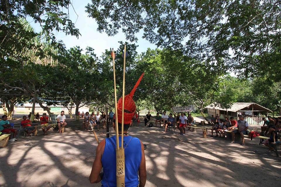 Encontro de fim de ano indígena no Baixo Tapajós (Foto: Carlos Bandeira Jr)