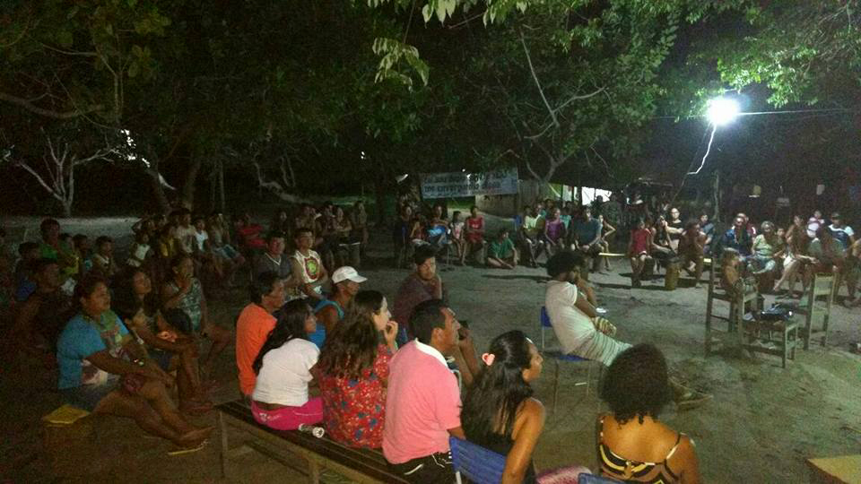 Encontro celebrou os 20 anos de luta e resistência do movimento indígena do Baixo Tapajós (Foto: CGI/Facebook)