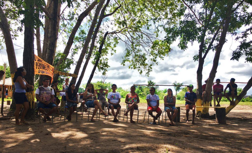 Encontro de fim de ano indígena no Baixo Tapajós (Foto: Fábio Zuker)
