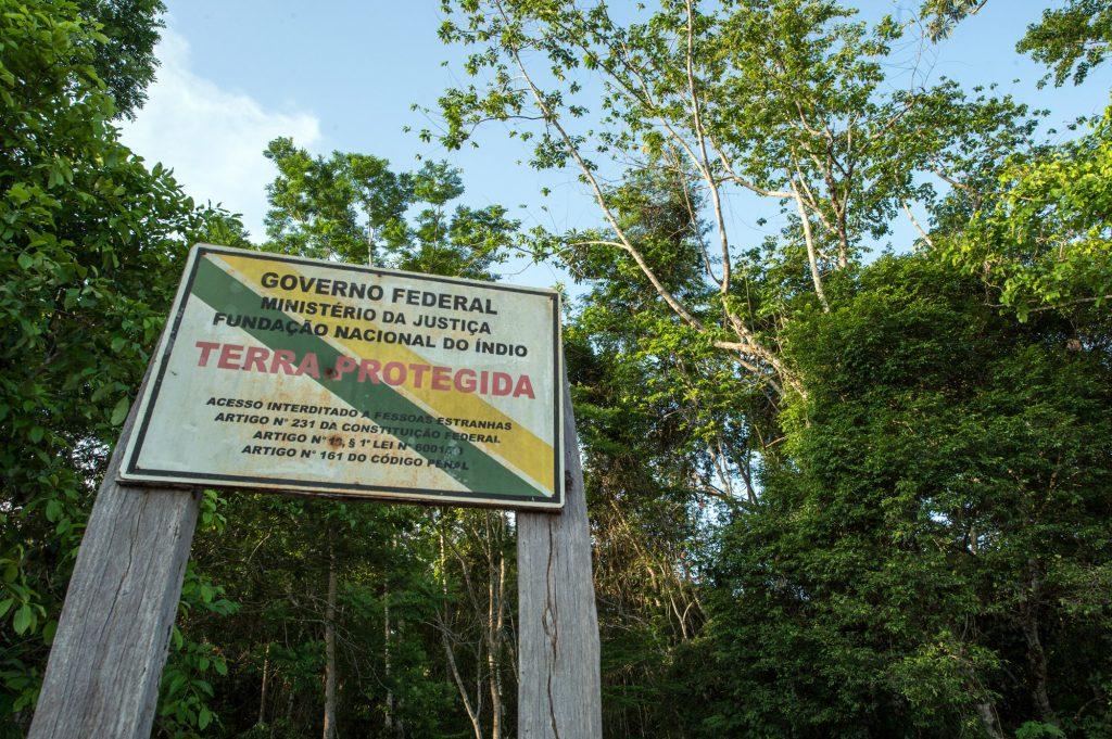 A Terra Indígena Uru Eu Wau Wau é demarcada (Foto: Mário Vilela/Funai)