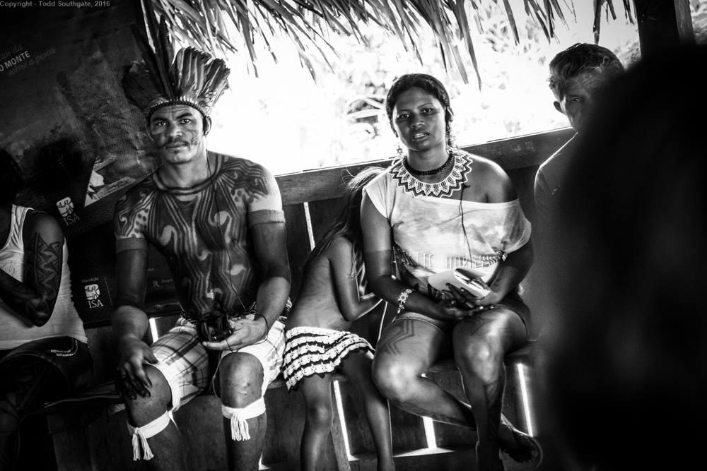 Volta Grande do Xingú- Populações afetadas pelas obras de Belo Monte  e Belo Sun (Foto: Todd Southgate)
