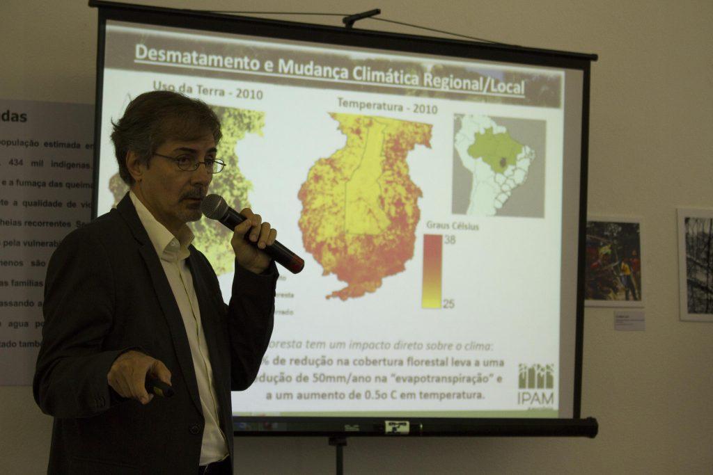 Paulo Moutinho, cofundador e pesquisador do Instituto de Pesquisa Ambiental da Amazônia (Foto: Alberto César Araújo/Amazônia Real)
